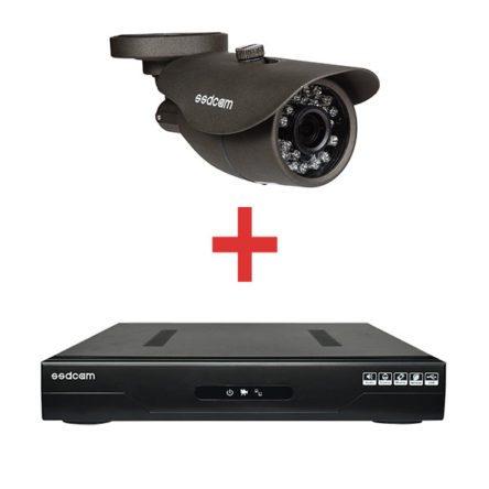 Минимальный комплект для организации системы видеонаблюдения