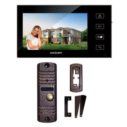 Комплект видеодомофона SD-717 + SSD-700