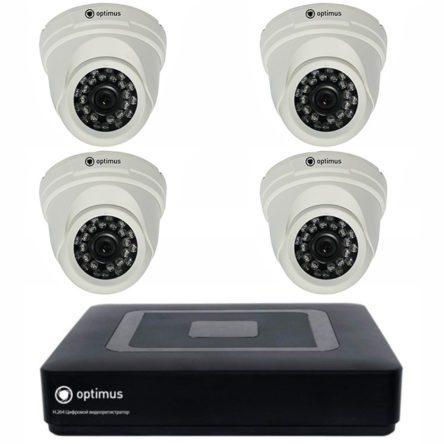 Комплект HD видеонаблюдения AHDR-2004N + AHD-M021.0(3.6)E